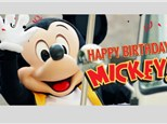 Mickey's 90th Birthday KNO