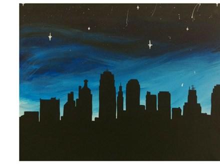 KC Skyline - Paint & Sip - August 12