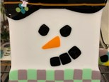 Snowman Glass for Kids and Adults  - January 25