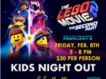Kids Night Out - LEGO! Feb 8th
