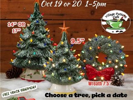 A Very Kenda Christmas.Events Village Pottery Cafe