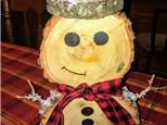 Wooden Snowman Kids Class!