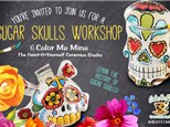 Sugar Skull Workshop at Color Me Mine