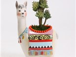 Llama/Truck Pottery Planter/Container Summer Camp/Workshop