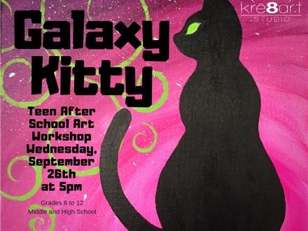 Teen After School - Galaxy Kitty