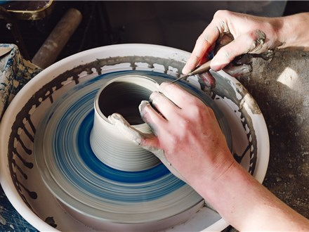 Pottery Wheel - 10.31.21