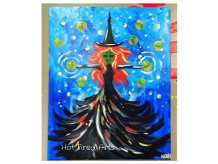 Paint 'n Sip: Magical Witch