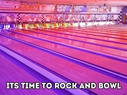 Unlimited Cosmic Bowling (Weds & Thurs 9pm-Midnight)