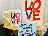 Paint Me a Story - Love Mug - Feb 8th @ 10:30 am