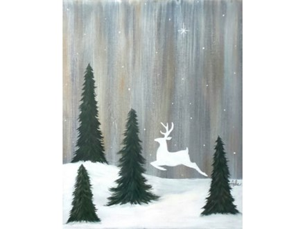 Peace on Earth Reindeer - Thurs. Dec. 13 at 6:30pm