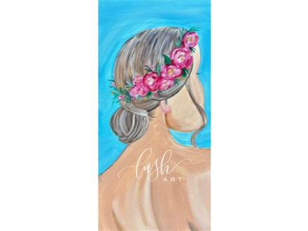 Floral Crown Paint Class - PERRY