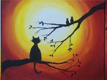 Choice design with Owl, Cat, Birds, etc.