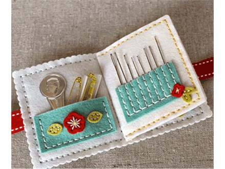 Make a Sewing Kit: Textile Artist Girl Scout Badge for Seniors