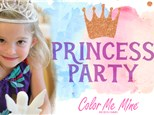 Princess Painting Party!