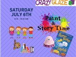 Ticket for Story Time-Jul 6th-Peanut Butter & Jellyfish