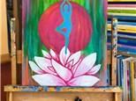 Adult Canvas - Yoga & Paint - 08.26.18