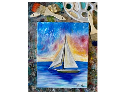 Sailboat Paint Class