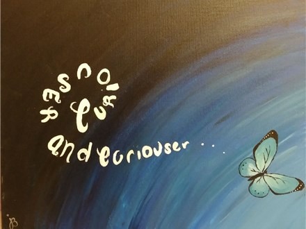 Adult Canvas - Curiouser and Curiouser - Evening Session - 03.01.18