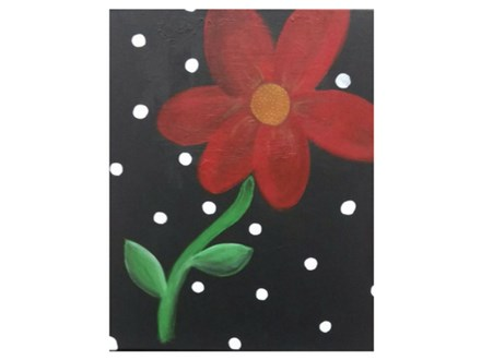 Daisy and Dots - Paint and Sip - Nov 15