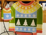 Adults Night Out - Ugly Sweater Plate + Ornament - November 30th