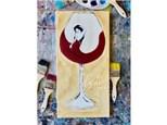 Wine Lady Paint Class