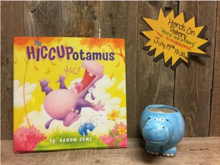 Paint Me a Story - The Hiccuppotamus - July 14th @ 10:30 am