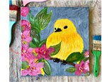 Yellow Bird Paint Class - Perry