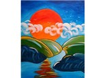 Paint & Sip - Sunset to the Maxx - Sept. 30 - 7:00pm