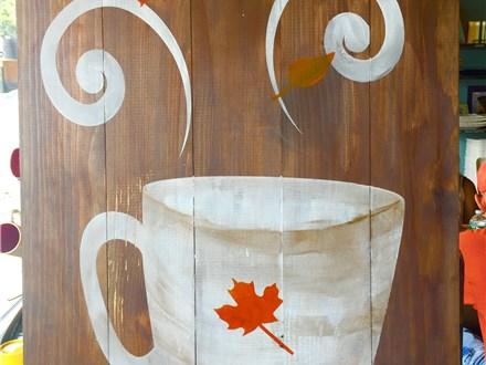 """Happy Fall"" Board Art at FMU! Saturday, October 22nd 6-9p"