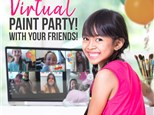 Virtual Party with Color Me Mine- Naperville