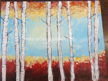Paint N Party-Fall Birch
