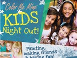 KID'S NIGHT OUT - FALL LEAF CANVAS -NOVEMBER 16TH
