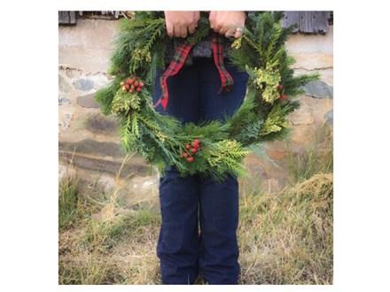 DIY Holiday Wreath Workshop