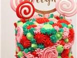 Parent/Child Merry and Bright Cake