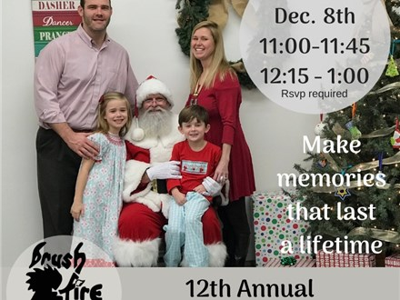 12th Annual Paint with Santa