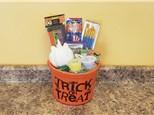 Unicorn Pumpkin Halloween Gift Bucket - Rocky Mountain Chocolate Apple Of Your Choice Included!