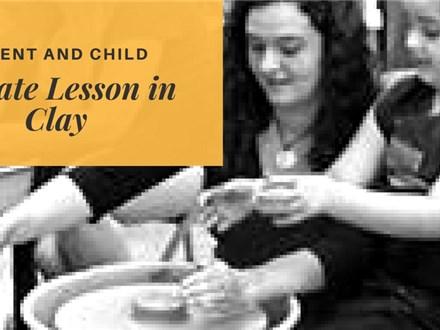 Parent & Child Private Lesson in Clay