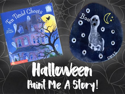 Paint Me A Story: Ten Timid Ghosts