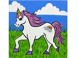 Summer Kids' Canvas Class! Unicorn! 6/18/18