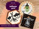 Halloween Print Plates - Workshop!