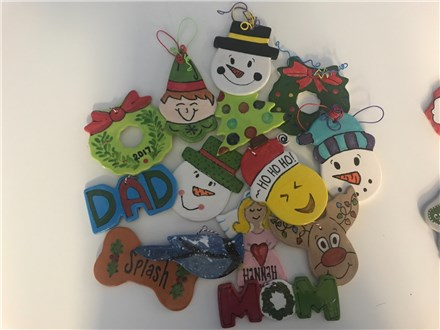Family Fun Day: 5th Annual Ornament Painting Event at Ceramics For You!