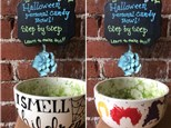 Step-by-Step Halloween Bowl