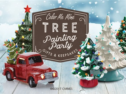 Vintage Tree and Truck w/Tree Painting! - Nov, 27th