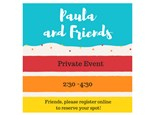 Paula and Friends- Private Paint & Sip - July 22