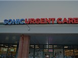 Appt at  Sonic Urgent Care