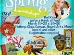 Spring Workshop:  Art Around the World-Week of March 19 & 26