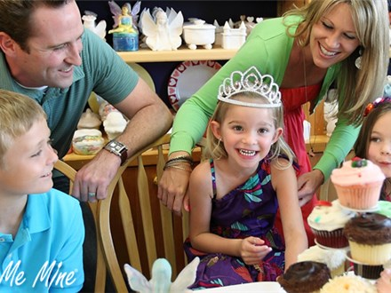 Party at COLOR ME MINE - KIDS PARTY