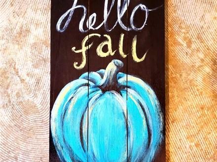 9/25 Hello Fall (deposit)