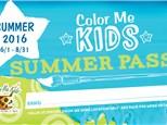 Kid Summer Pass for Color Me Mine - Littleton