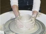 Pottery Wheel and Painting Party
